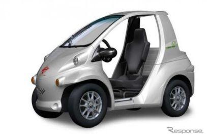 超小型電気自動車 コムス を一部改良、登坂時の性能向上