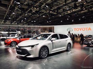 トヨタ カローラ にワゴン、2種類のハイブリッド設定…パリモーターショー2018