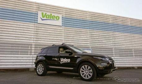 ヴァレオ、自動運転車で日本一周する旅をスタート 6700km