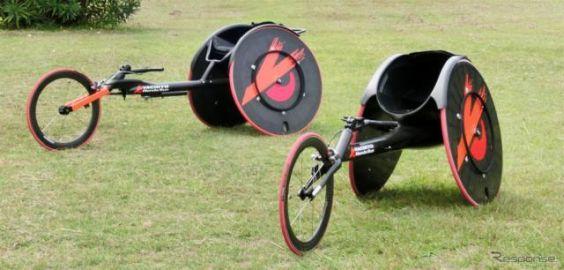 陸上競技用カーボン車いす、八千代が出展予定…福祉機器展2018