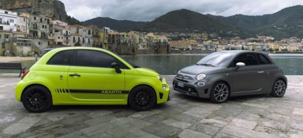 アバルト 595 改良新型は5つの個性、最強モデルは180馬力…欧州で発表