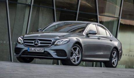 メルセデスベンツ Eクラス PHV、燃費向上とEVモード1.5倍に…欧州で改良新型