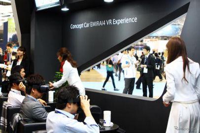 グラスコクピット化を極めた三菱電機 EMIRAI4 に「乗る」…CEATEC 2018