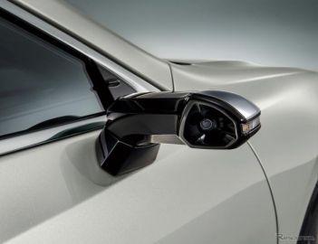 レクサス ES 新型、デジタルアウターミラー用ECUはデンソーが開発 ミラーレス化に貢献