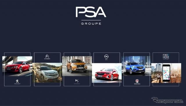 PSAグループの各ブランド