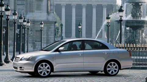 トヨタ アベンシス など11車種3万6000台、走行中にエアバッグが開くおそれ リコール