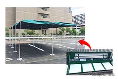 三井のリパーク、埼玉県立近代美術館東駐車場を災害支援型にリニューアル