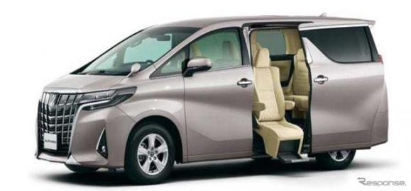 トヨタ車体、アルファード の福祉車両を出展予定…メッセナゴヤ2018