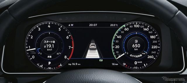 VW ゴルフ TSI テックエディション VW ゴルフ ヴァリアント TSI テックエディション アクティブインフォディスプレイ