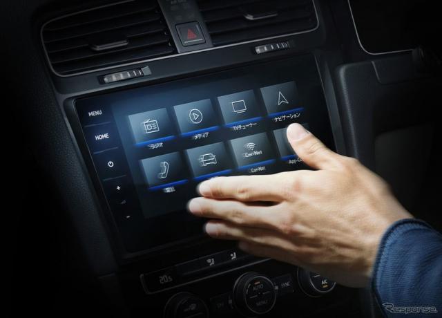 VW ゴルフ TSI テックエディション VW ゴルフ ヴァリアント TSI テックエディション VW純正インフォテイメントシステム ディスカバープロ ジェスチャーコントロールイメージ
