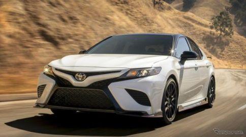 トヨタ カムリ に初の「TRD」、概要発表…ロサンゼルスモーターショー2018で公開予定