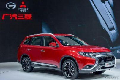 三菱 アウトランダー 改良新型、中国仕様を発表…広州モーターショー2018