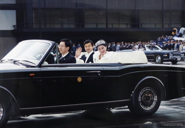 1993年、現皇太子ご夫妻成婚パレード (c) Getty Images