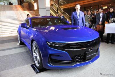 【シボレー カマロ 改良新型】日本法人社長「より洗練されたエクステリアを採用」