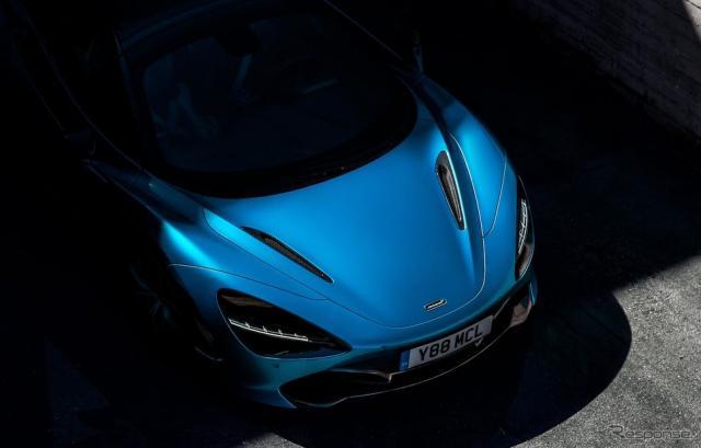 マクラーレンの新型スーパーカーのティザーイメージ