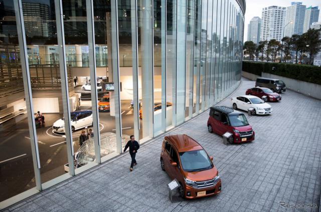 日産自動車グローバル本社(11月21日、横浜市) (c) Getty Images