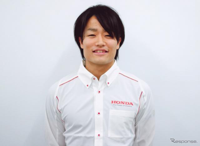 2019年FIA-F2に参戦する松下信治。《写真提供 Honda》