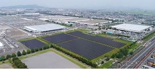 大泉工場 太陽光発電設備完成予想図