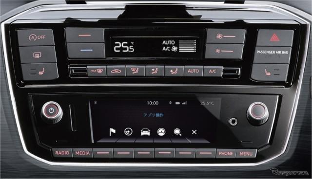 VW cross up! フルオートエアコンディショナー/シートヒーター(運転席/助手席)