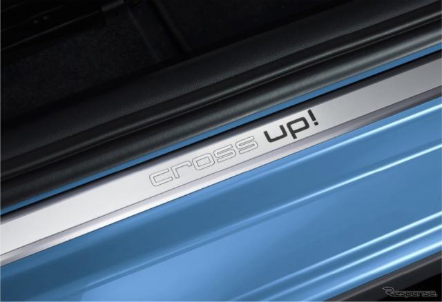 VW cross up! 専用ドアシルプレート