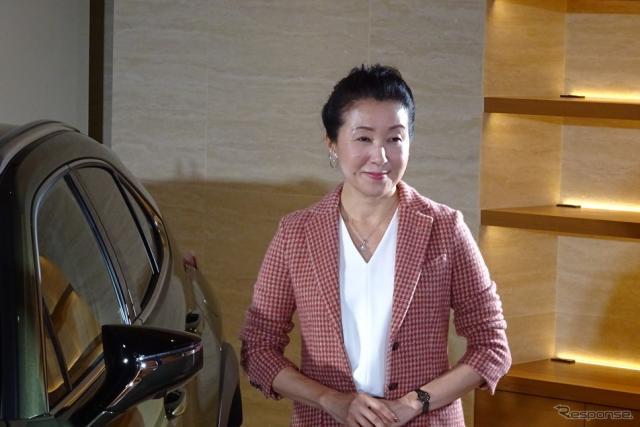 UX開発責任者の加古慈チーフエンジニア(レクサスインターナショナル・バイスプレジデント)《撮影 池原照雄》
