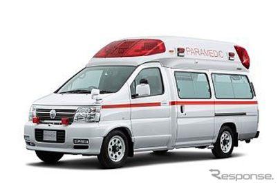 損保協会、高規格救急自動車など19台を全国へ寄贈
