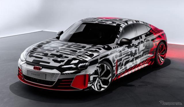 アウディ e-tron GTコンセプト