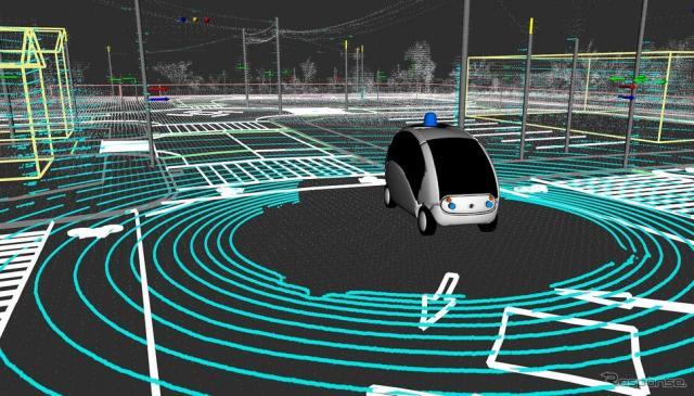 自動運転AIの競技会を開催(イメージ)《画像 ティアフォー》