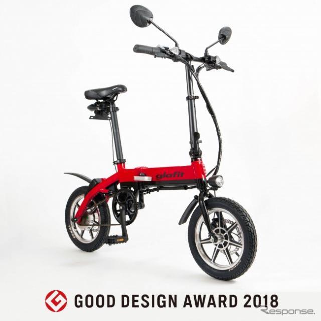 グラフィットバイク・GFR-01 ウメボシレッド