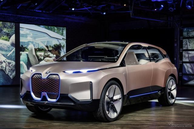 BMW ヴィジョン iNEXT(ロサンゼルスモーターショー2018)