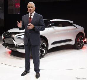 三菱 e-エボリューション、将来の方向性を示唆した電動SUV…ロサンゼルスモーターショー2018