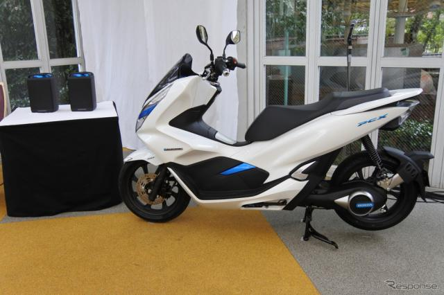ホンダ PCX ELECTRIC《撮影 小松哲也》