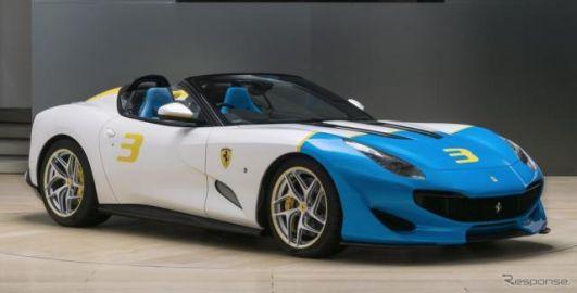 フェラーリの最新ワンオフ『SP3JC』、780馬力のロードスター発表
