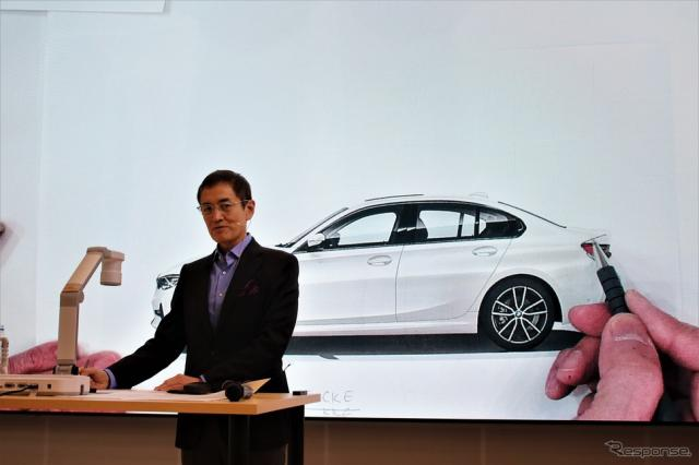 BMWデザインディレクターの永島譲二氏《撮影  内田俊一》