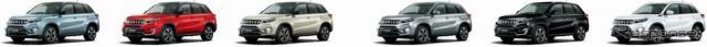 スズキ エスクード 1.4ターボ ボディーカラー展開