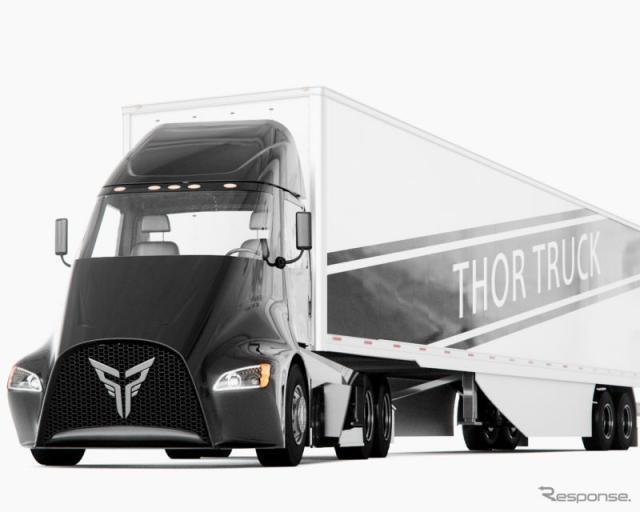 ソー・トラック社の新型EVトラック、ET-One