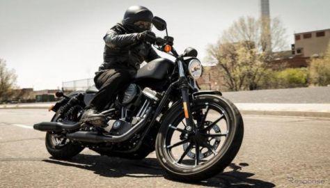 ハーレーダビッドソンのレンタルバイク、1番人気は アイアン883