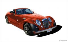光岡 ヒミコ 改良新型、全30色のボディカラーオプションを追加[写真追加]