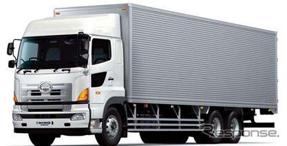 日野プロフィア 2万4000台をリコール、変速機や車速センサに不具合