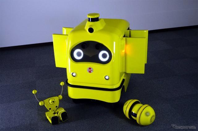宅配ロボット CarriRo Deli(キャリロデリ)