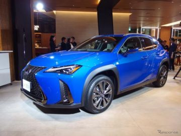 【レクサス UX】先読みエコドライブ機能と連携するカーナビ、アイシンAWとトヨタが共同開発