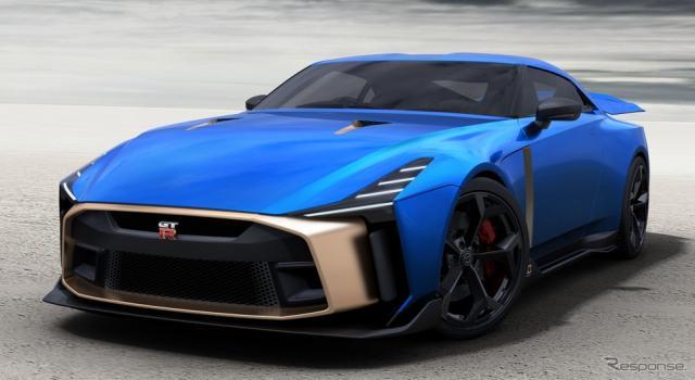 日産 GT-R50 by イタルデザインの市販モデル