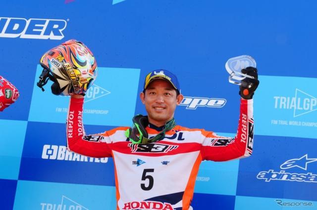 日本人でただひとりトライアル世界選手権にレギュラー参戦する藤波貴久選手