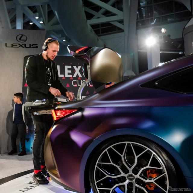 レクサス RC 改良新型の XCC(ロサンゼルスモーターショー2018)