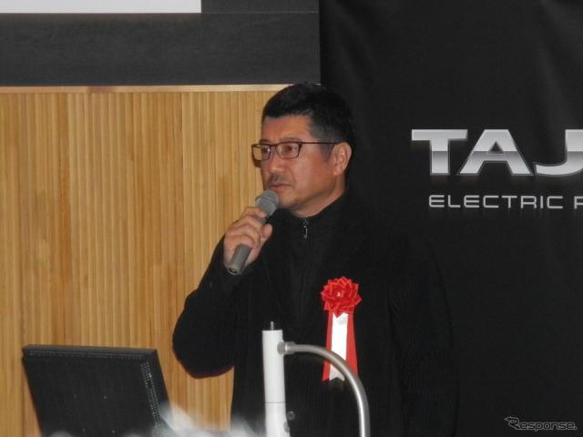工業デザイナーの奥山清行氏《撮影 山田清志》