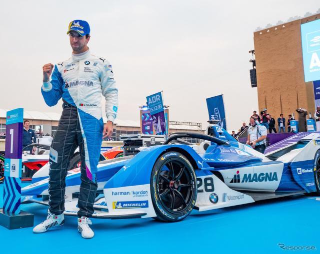 優勝を飾ったのは、BMWのダ・コスタ。《写真提供 Michelin》