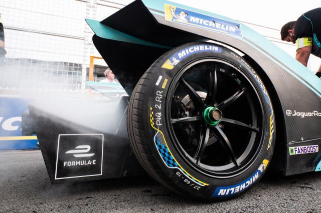 タイヤはミシュラン製。《写真提供 Michelin》