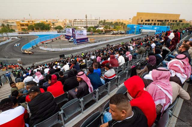 サウジアラビアで始まったシーズンは、来年7月にニューヨークでフィナーレを迎える予定。《写真提供 Michelin》