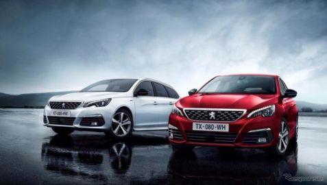 プジョー 308 改良新型、新型エンジンや8速ATなどを追加導入