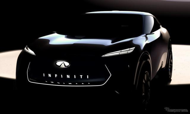 インフィニティ ブランド初のEVクロスオーバーを提案するコンセプトカー
